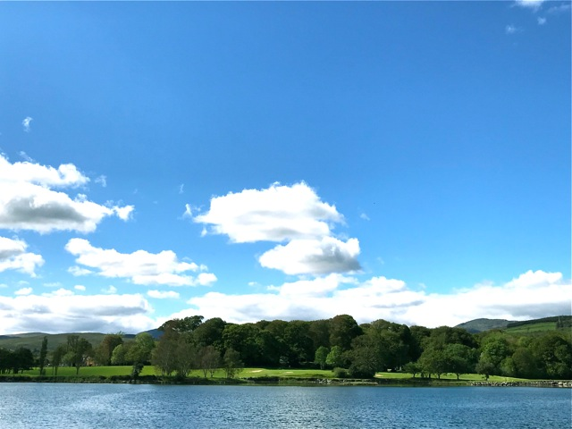 View from Reenagross to golf course - Kenmare Golf Club