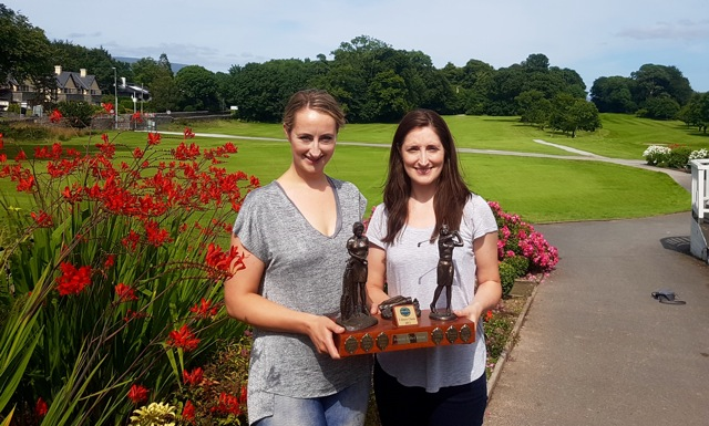 Prize winners - Sisters tournament kenmare golf club