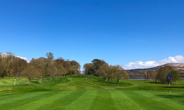 View from 15th Green back fairway - Kenmare Golf Club