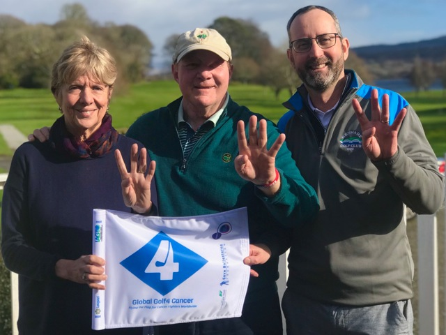 Global golf 4 cancer charity event at Kenmare Golf club
